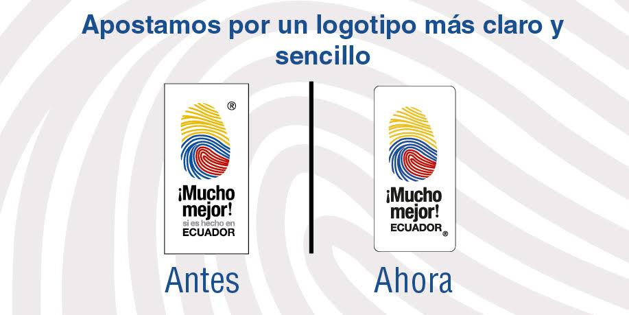 La Corporación Mucho Mejor Ecuador apostó por un logotipo más claro y sencillo